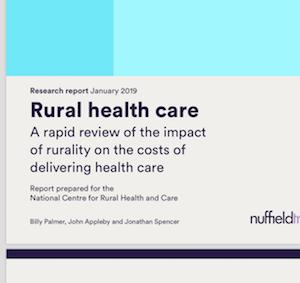 Nuffield Rural Health